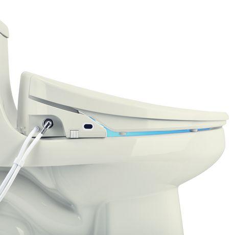 Siège de toilette de bidet de luxe de Swash 1400 - rond, biscuit - image 4 de 9