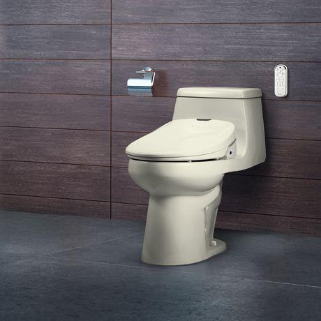 Siège de toilette de bidet de luxe de Swash 1400 - rond, biscuit - image 7 de 9