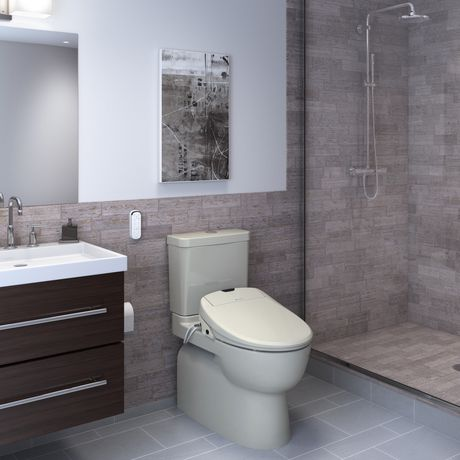 Siège de toilette de bidet de luxe de Swash 1400 - rond, biscuit - image 9 de 9