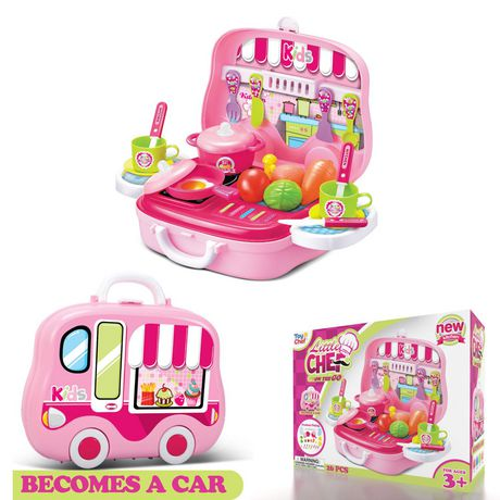 Toy Chef Children's Portable Mini Toy Kitchen Set - image 3 of 3