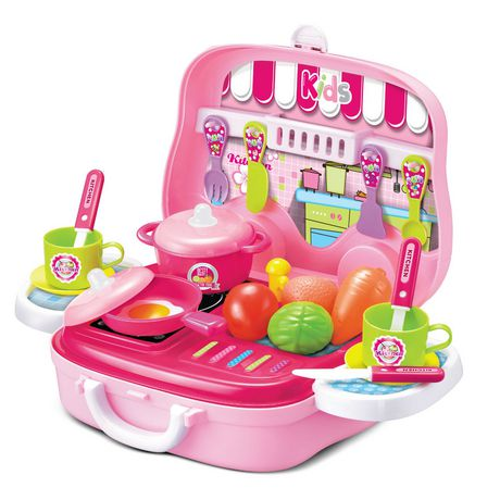 Toy Chef Children's Portable Mini Toy Kitchen Set - image 1 of 3