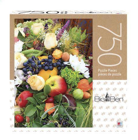 Big Ben - 750-Piece Adult Jigsaw Puzzle - Fruits and Flowers - image 1 de 1