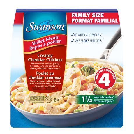 Repas à poêler Swanson à saveur poulet au cheddar crémeux en format Familial - image 2 de 3