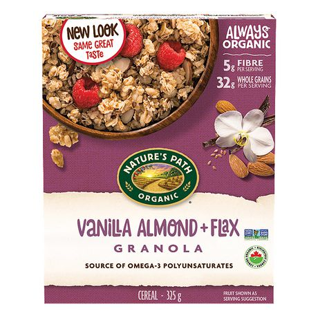 Nature's Path Natures Path Organic Flax Vanilla Almond Granola Cereal - image 1 of 3