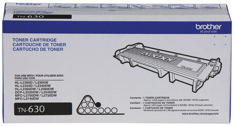 Brother TN 630 Toner Cartridge, Black - image 2 of 2