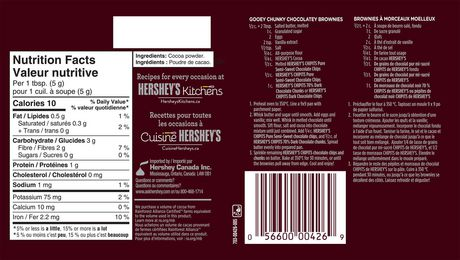 Hershey's Natural Unsweetened Cocoa - image 2 of 4