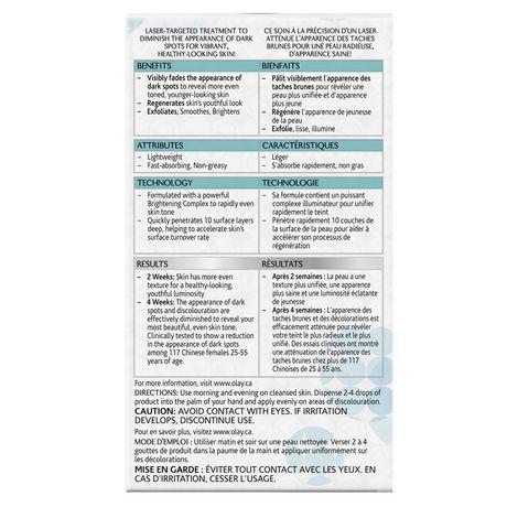Olay Regenerist Luminous Tone Perfecting Treatment - image 2 of 3