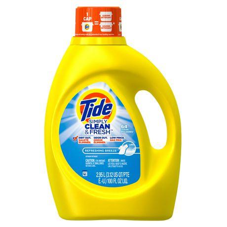 Tide Simply Clean & Fresh High Efficiency Refreshing ...