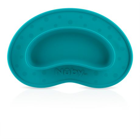 Nûby Sure Grip™ Silicone Miracle Mat™ Plate - image 1 of 1
