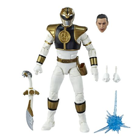 Power Rangers Lightning Collection 6-Inch Mighty Morphin White Ranger Collectible Action Figure - image 2 of 6