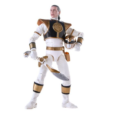 Power Rangers Lightning Collection 6-Inch Mighty Morphin White Ranger Collectible Action Figure - image 3 of 6