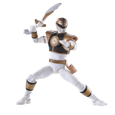 Power Rangers Lightning Collection 6-Inch Mighty Morphin White Ranger Collectible Action Figure - image 4 of 6