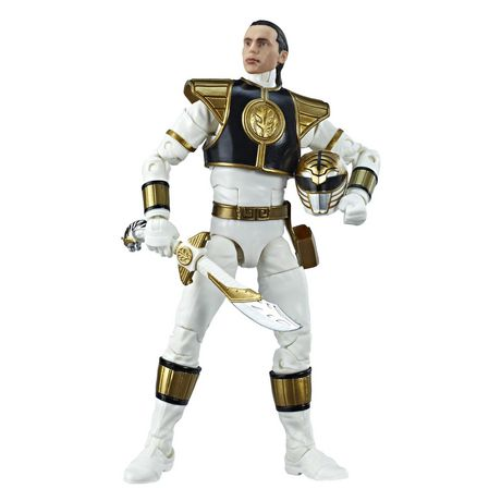 Power Rangers Lightning Collection 6-Inch Mighty Morphin White Ranger Collectible Action Figure - image 5 of 6