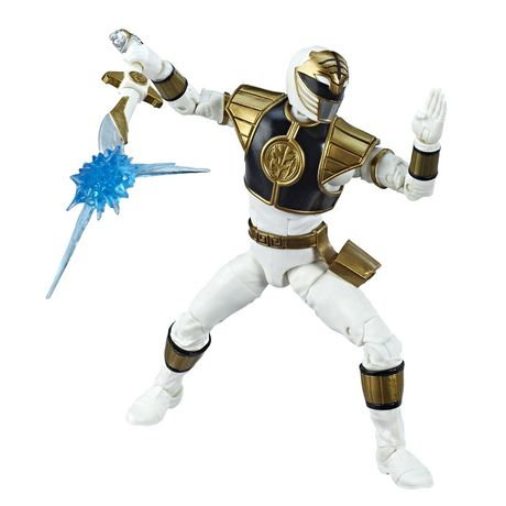 Power Rangers Lightning Collection 6-Inch Mighty Morphin White Ranger Collectible Action Figure - image 6 of 6