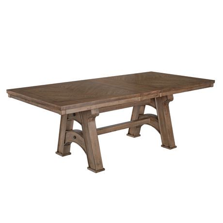 Table de salle manger traditionelle laura de primo for Hauteur table salle manger standard