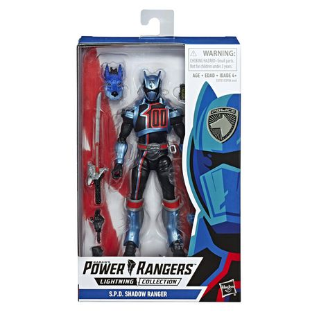 Power Rangers Lightning Collection 6-Inch Power Rangers S.P.D. Shadow Ranger Collectible Action Figure - image 1 of 5