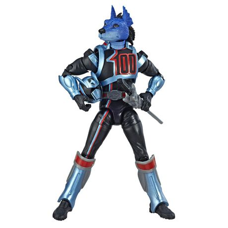 Power Rangers Lightning Collection 6-Inch Power Rangers S.P.D. Shadow Ranger Collectible Action Figure - image 4 of 5