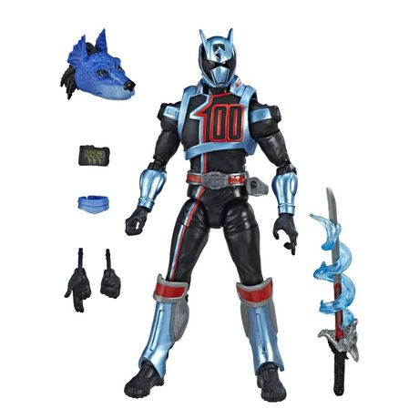 Power Rangers Lightning Collection 6-Inch Power Rangers S.P.D. Shadow Ranger Collectible Action Figure - image 2 of 5