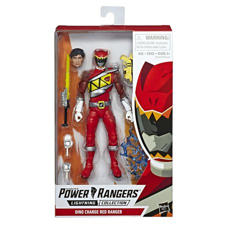 Power Rangers Lightning Collection 6-Inch Dino Charge Red Ranger Collectible Action Figure - image 1 of 5