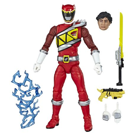 Power Rangers Lightning Collection 6-Inch Dino Charge Red Ranger Collectible Action Figure - image 2 of 5