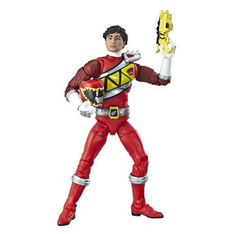 Power Rangers Lightning Collection 6-Inch Dino Charge Red Ranger Collectible Action Figure - image 3 of 5
