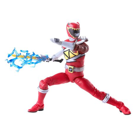 Power Rangers Lightning Collection 6-Inch Dino Charge Red Ranger Collectible Action Figure - image 5 of 5