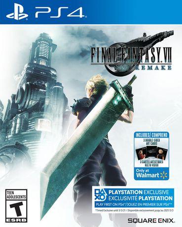 Final Fantasy VII Remake Standard Edition (PS4). - image 1 of 9