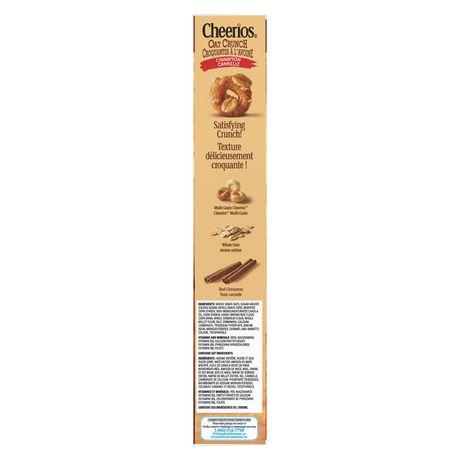 Cheerios Oat Crunch Cinnamon Cereal - image 4 of 9