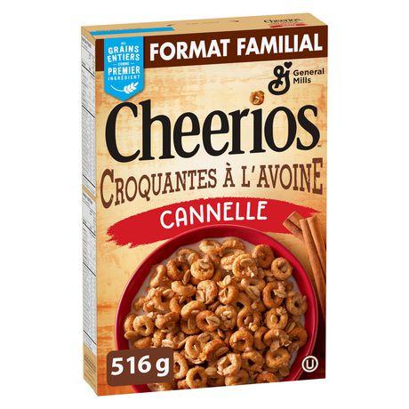 Cheerios Oat Crunch Cinnamon Cereal - image 2 of 9