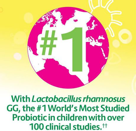 Culturelle Kids Daily Probiotic Chewables | Natural Bursting Berry Flavour | Help Support your Child's gastrointestinal health| 30 Count - image 3 of 7
