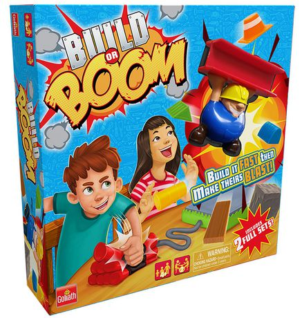 Goliath Games - Build Or Boom Game - image 1 of 3