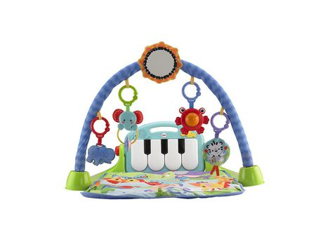 Fisher-Price Piano Gym, Kick And Play, Blue - image 3 of 9
