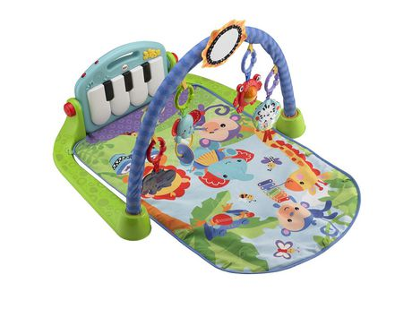 Fisher-Price Piano Gym, Kick And Play, Blue - image 4 of 9