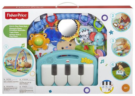 Fisher-Price Piano Gym, Kick And Play, Blue - image 5 of 9