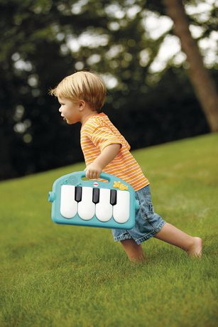 Fisher-Price Piano Gym, Kick And Play, Blue - image 7 of 9