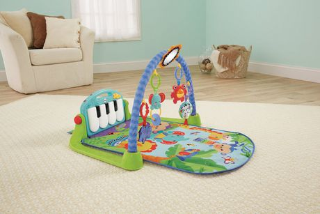 Fisher-Price Piano Gym, Kick And Play, Blue - image 8 of 9