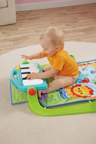 Fisher-Price Piano Gym, Kick And Play, Blue - image 9 of 9
