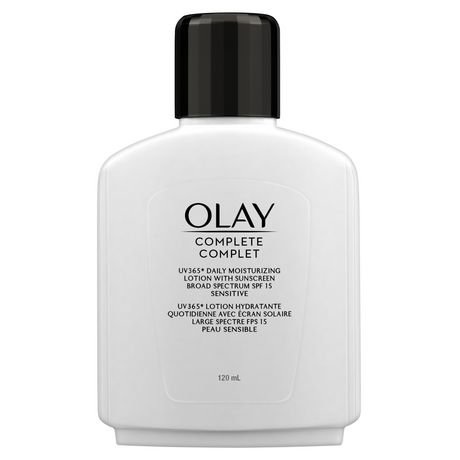 Olay Complete All Day Moisturizer with Uv Protection Spf 15 Oil-Free Lotion for Sensitive Skin, Vitamin E & Aloe - image 3 of 7