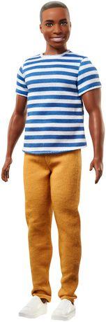 Ken - Fashionistas - Poupée n°18 - Super rayures - image 1 de 6
