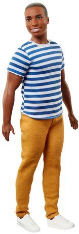 Ken - Fashionistas - Poupée n°18 - Super rayures - image 2 de 6