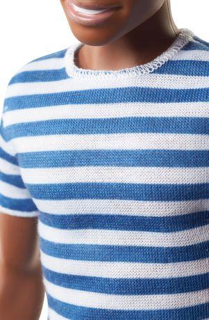 Ken - Fashionistas - Poupée n°18 - Super rayures - image 4 de 6