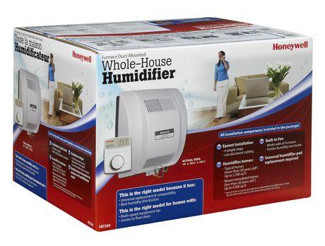 Honeywell He360A Fan-Powered Whole House Humidifier - image 1 of 1