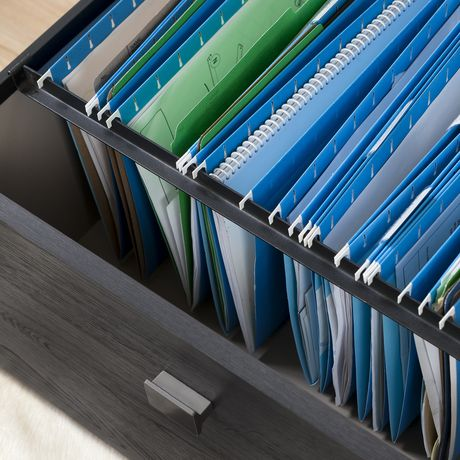 South Shore Interface Storage Unit with File Drawer - image 5 of 9