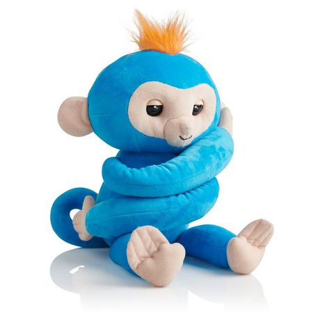 Fingerlings Hugs - Boris - Friendly Interactive Plush Monkey Toy - By...