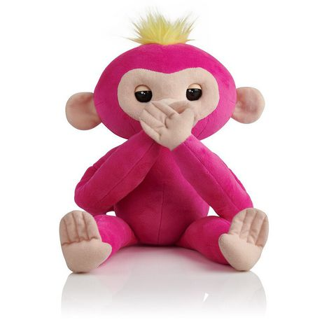 Fingerlings Hugs - Bella - Friendly Interactive Plush Monkey Toy - by WowWee - image 2 of 4
