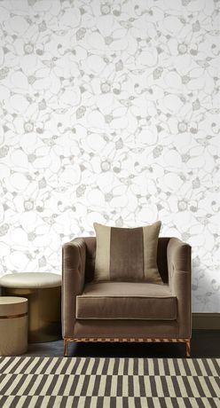 Graham Brown Splash Silver Wallpaper