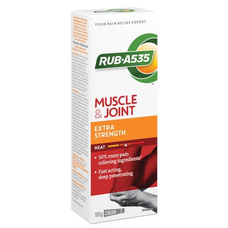 RUB A535 Muscle & Joint Pain Relief Heat Cream, Extra Strength - image 2 of 3