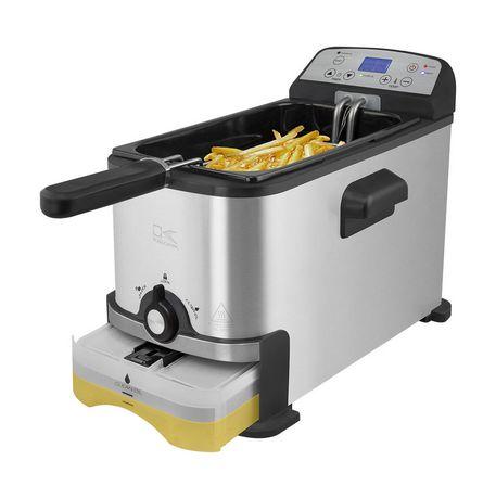 Kalorik 3.2 Quart Digital Deep Fryer with Oil Filtration - image 1 of 9