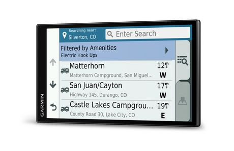Navigateur GPS RV 770 LMT-S de 7 po par Garmin (Amérique du Nord) - image 5 de 6