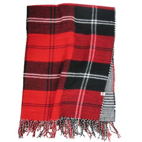 Canadiana Reversible Blanket Scarf